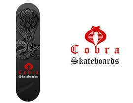 Nro 1 kilpailuun Design a Logo for Cobra Skateboards käyttäjältä sunny9mittal