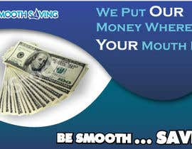 "#21 para Design a postcard with theme ""We put our money where your mouth is!"" por tpwdesign"