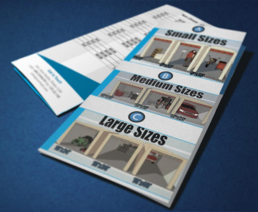 Contest Entry #                                        4                                      for                                         Design a Tr-Fold Brochure for Storage Company