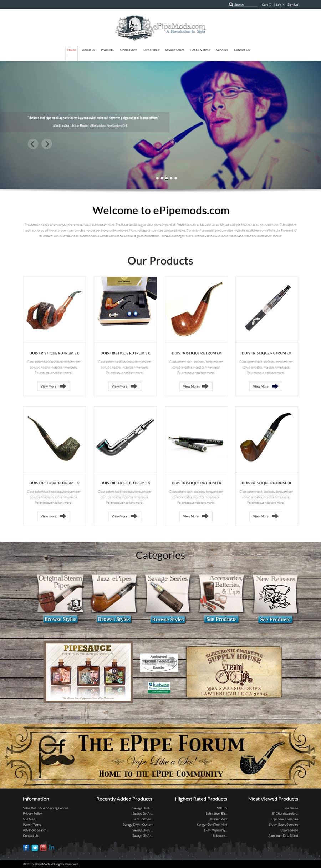 Inscrição nº 4 do Concurso para redesign of homepage and category page for magento site