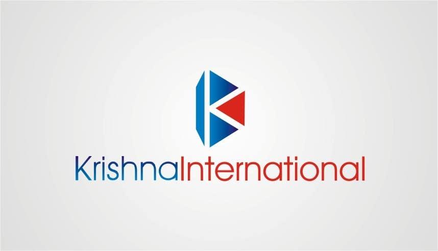 Konkurrenceindlæg #105 for Design a Logo for Krishna International