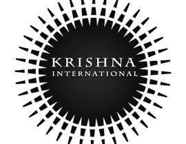#72 for Design a Logo for Krishna International af VENOR
