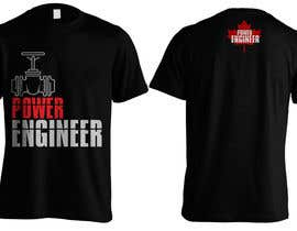 #25 untuk Design a T-Shirt for Power Engineer Professional oleh Bugz318