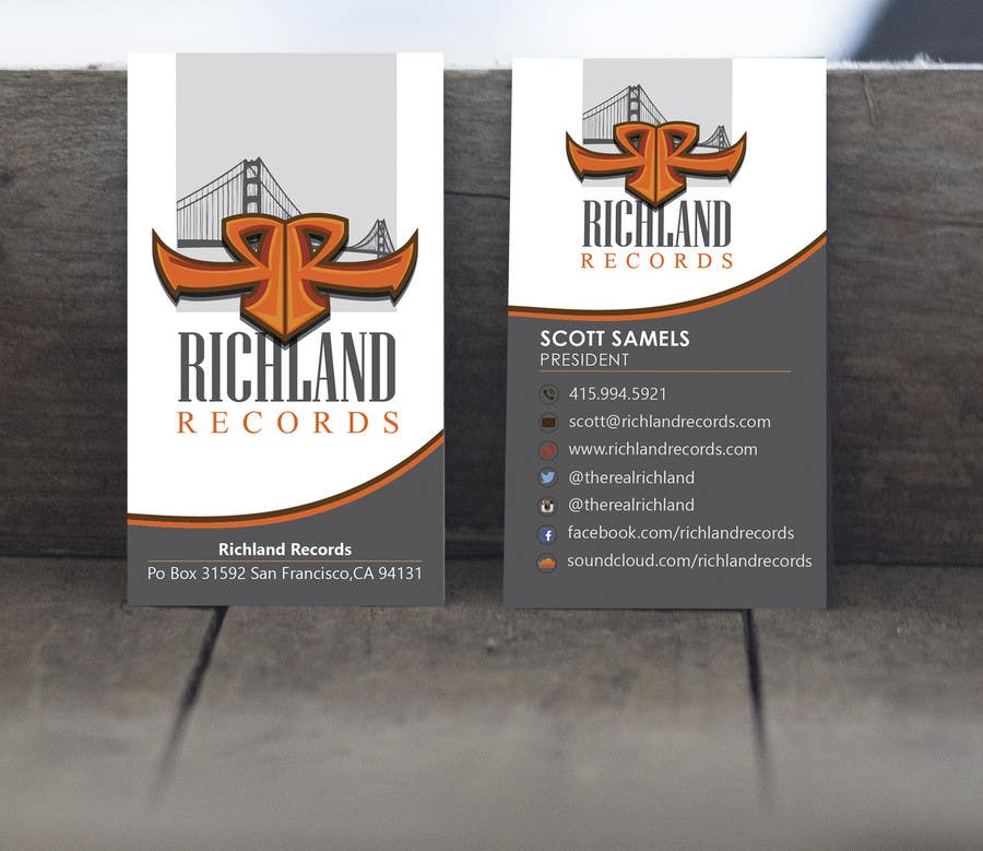 Proposition n°66 du concours Brand-new business cards!