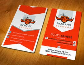 #96 for Brand-new business cards! by akhi1sl