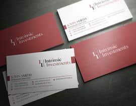 #91 untuk Design some Business Cards for Intrinsic Investments oleh youart2012