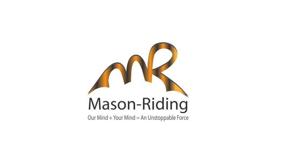 Konkurrenceindlæg #                                        39                                      for                                         Design a Logo for Mason-Riding