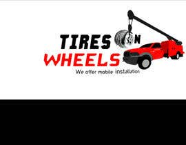 #195 สำหรับ Logo Design for Tires On Wheels โดย vinayvijayan