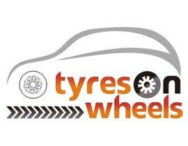 #170 untuk Logo Design for Tires On Wheels oleh ktmehta
