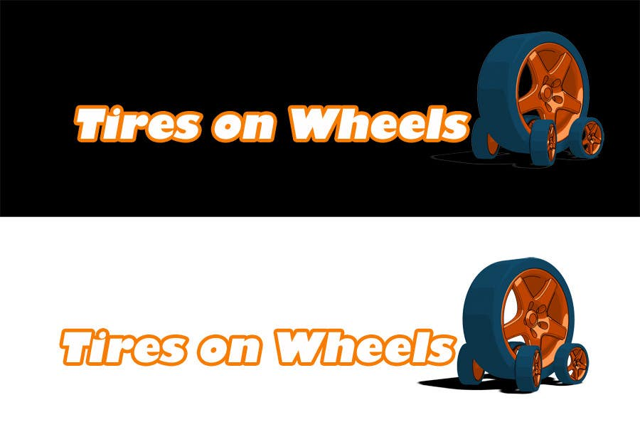 Penyertaan Peraduan #141 untuk Logo Design for Tires On Wheels