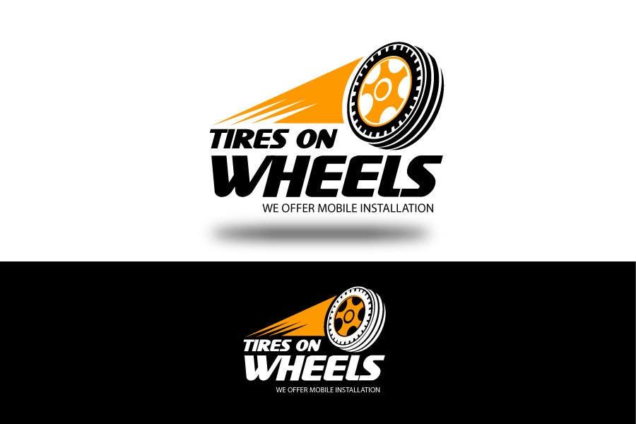 Participación en el concurso Nro.173 para Logo Design for Tires On Wheels