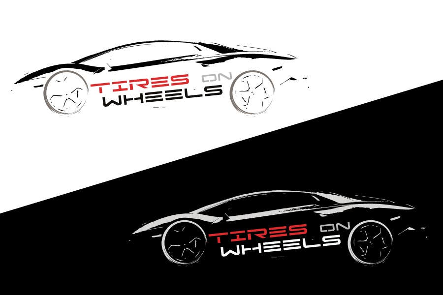 Entri Kontes #                                        113                                      untuk                                        Logo Design for Tires On Wheels
