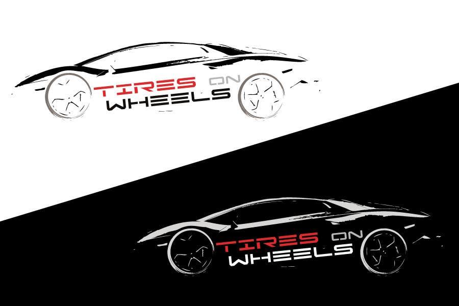 Penyertaan Peraduan #113 untuk Logo Design for Tires On Wheels