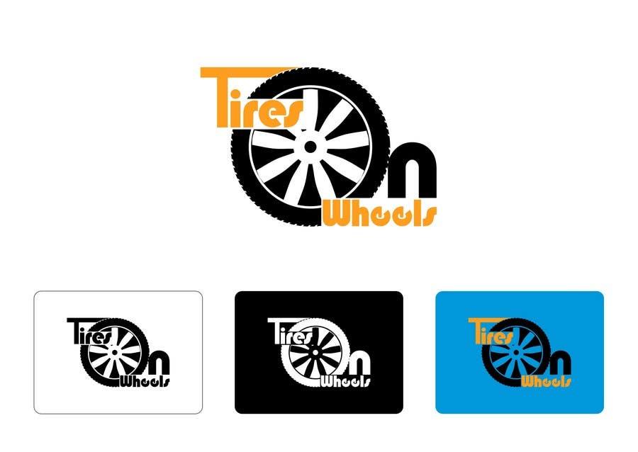 Penyertaan Peraduan #193 untuk Logo Design for Tires On Wheels