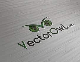 Nro 48 kilpailuun Design a Logo for VectorOwl.com käyttäjältä AliRazaBarkat