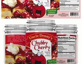 #25 for Chubby Cherry label re-design af kimuchan