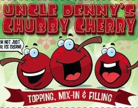 #48 for Chubby Cherry label re-design af allreagray