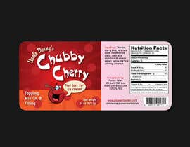 #51 for Chubby Cherry label re-design af cowboyrg