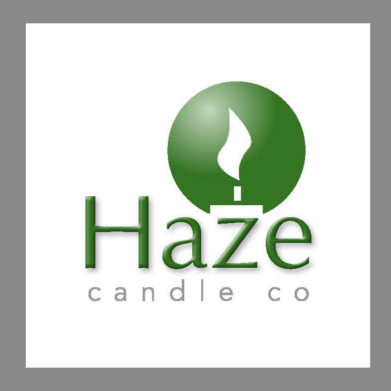 Penyertaan Peraduan #29 untuk Design a Logo for Haze Candle Co.