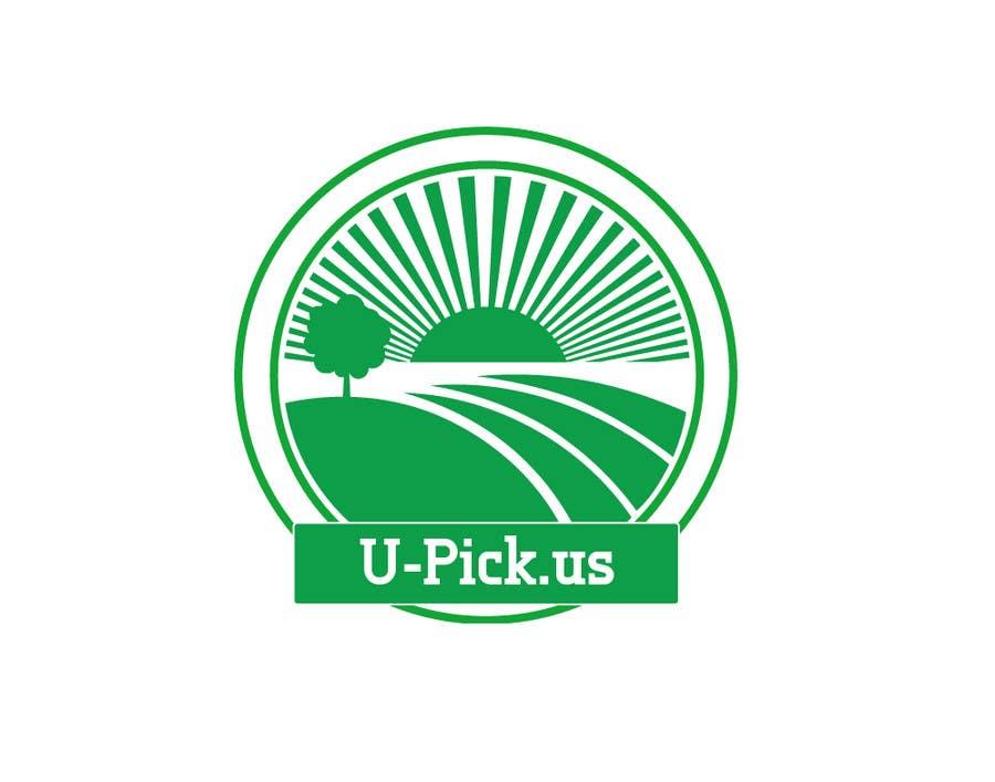Penyertaan Peraduan #92 untuk Design a Logo for U-Pick.us