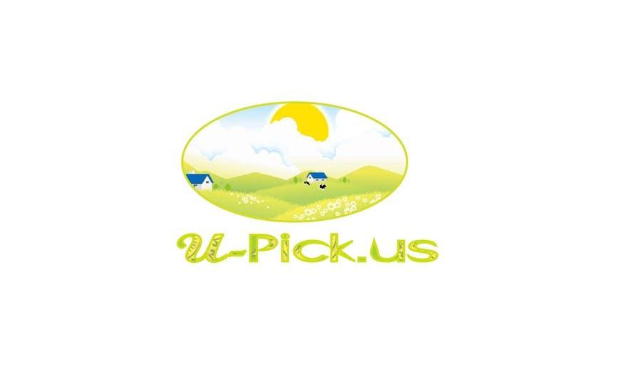Penyertaan Peraduan #103 untuk Design a Logo for U-Pick.us