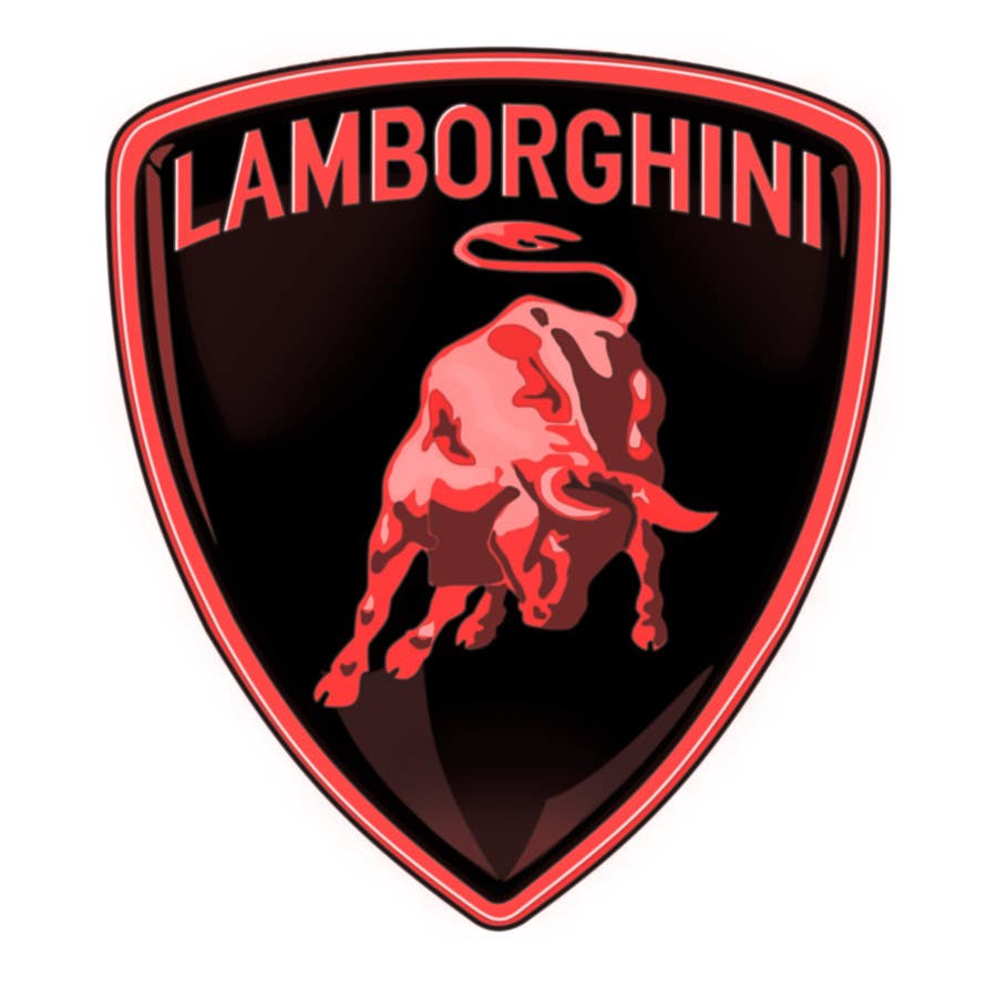 Kilpailutyö #12 kilpailussa Illustrate a Painted Lamborghini Logo Design