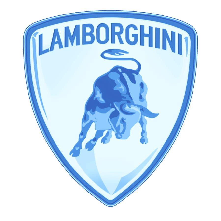 Contest Entry #                                        14                                      for                                         Illustrate a Painted Lamborghini Logo Design