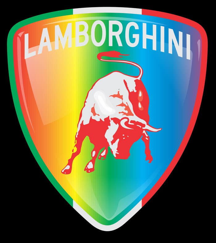 Contest Entry #                                        4                                      for                                         Illustrate a Painted Lamborghini Logo Design
