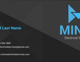 #6 untuk Design some Business Cards for New Electrical Business oleh designcreativ