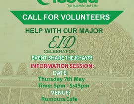 #18 untuk 'Call for Volunteers' - Islamic Flyer oleh muhammadshoban