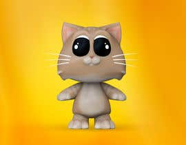 ludo2002 tarafından Design a cute 3D animatable characters based on our cat. için no 13