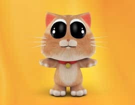 nº 22 pour Design a cute 3D animatable characters based on our cat. par ludo2002