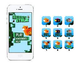 #10 for Design an app store logo and main menu screen for game. af Eric14