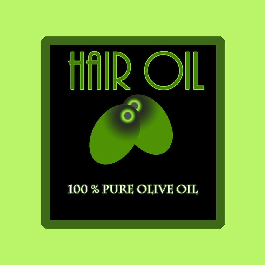 Konkurrenceindlæg #23 for Create Print and Packaging Designs for hair oil labelling