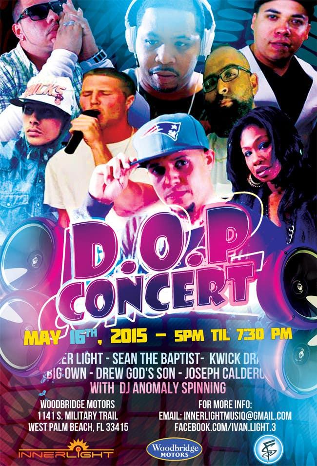 Penyertaan Peraduan #15 untuk Design a Flyer for Concert