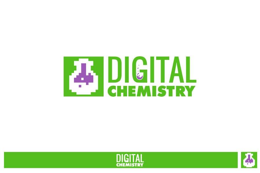 Kilpailutyö #136 kilpailussa Design a Logo for Digital Chemistry