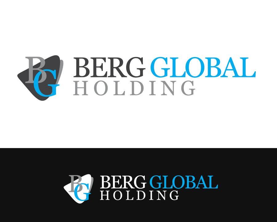 Konkurrenceindlæg #                                        22                                      for                                         Design a Logo for Berg Global Holding Company