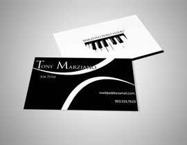 #72 for Design some Business Cards for a Piano teaching business by Fidelism