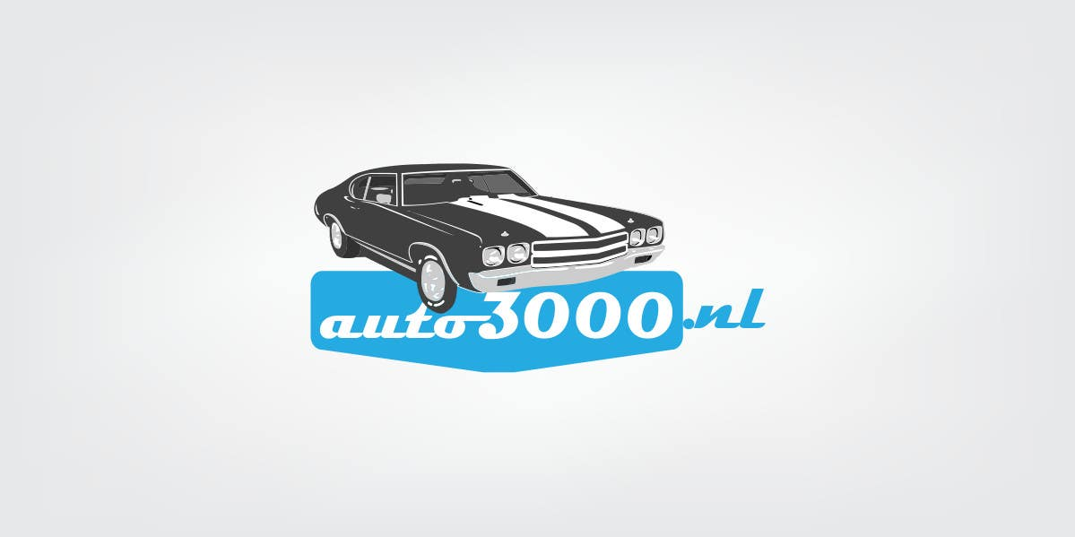 Contest Entry #56 for Design a logo for auto3000.nl, a website selling used cars up to 3000 euro