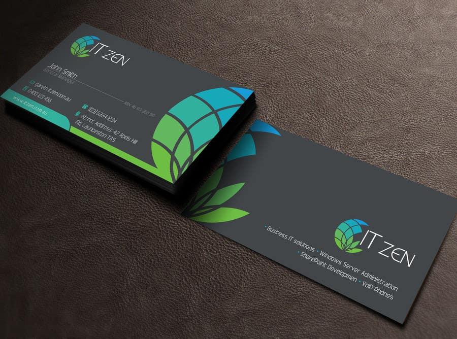 Konkurrenceindlæg #19 for Design some Business Cards for IT Zen