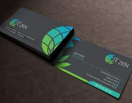 #111 for Design some Business Cards for IT Zen af toyz86