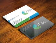 Graphic Design Konkurrenceindlæg #84 for Design some Business Cards for IT Zen