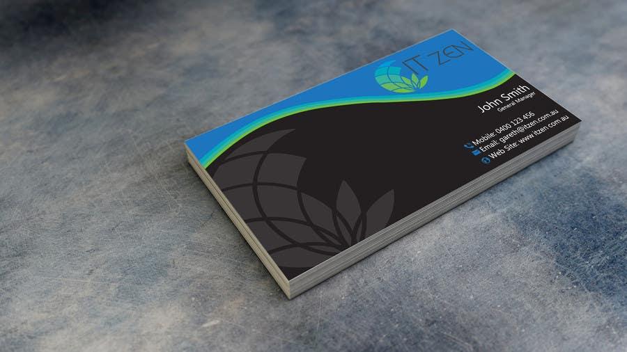 Konkurrenceindlæg #72 for Design some Business Cards for IT Zen
