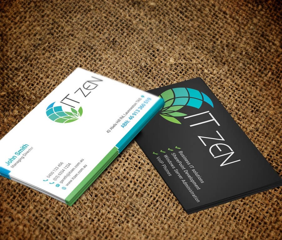 Konkurrenceindlæg #75 for Design some Business Cards for IT Zen