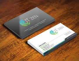 ezesol tarafından Design some Business Cards for IT Zen için no 6