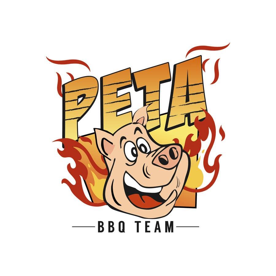 Kilpailutyö #22 kilpailussa Design a Logo for BBQ Team