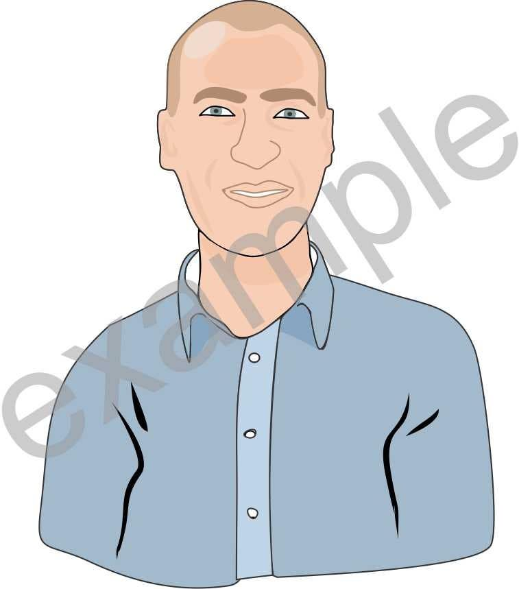Contest Entry #                                        16                                      for                                         Avatar of a plain looking IT guy
