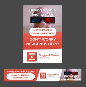 #14 cho Design an Advertisement for Suggest Movie App bởi goranjokanovic