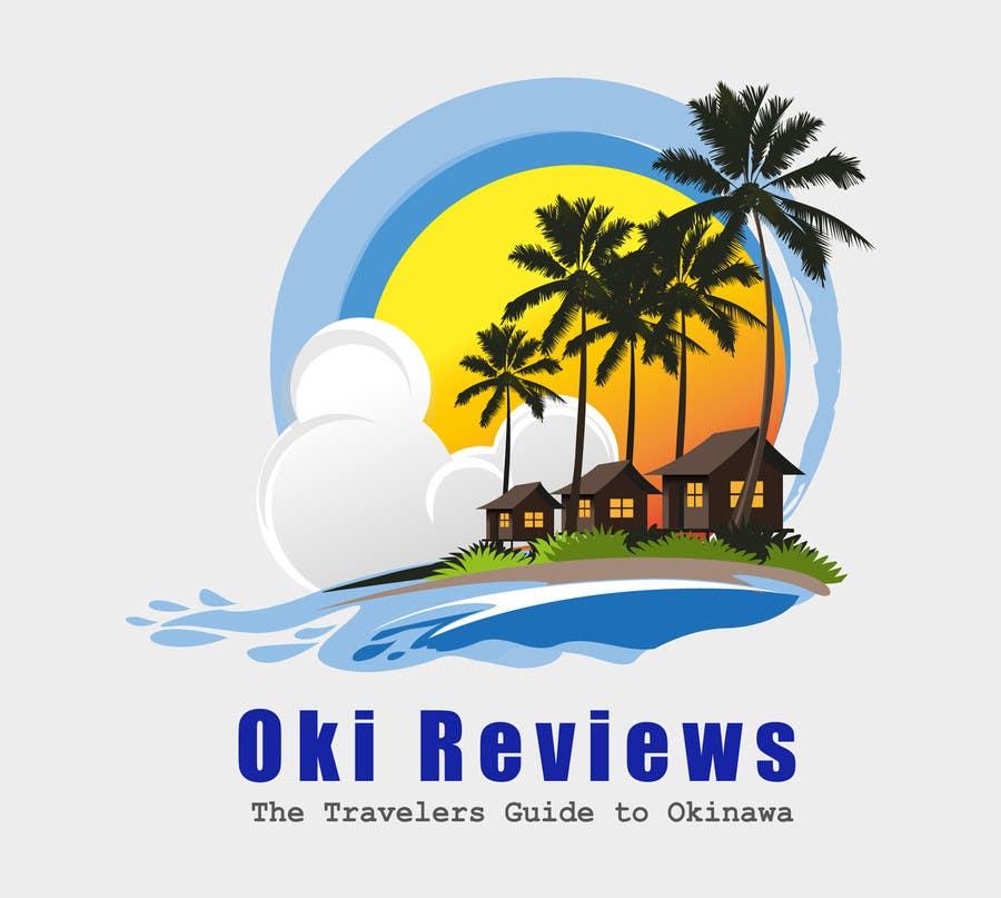 Penyertaan Peraduan #144 untuk Design a Logo for a Travel Review Site