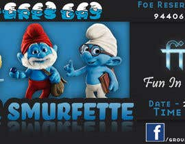 nº 3 pour Design a Banner for an Smurf Event par pactan